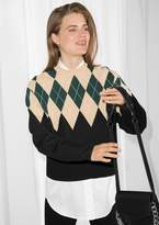 Other Stories Argyle Sweater