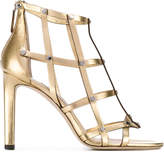 Jimmy Choo 'Tina' studded cage sandals