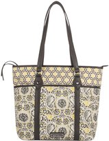 Waverly Quilted Cotton Tote Bag
