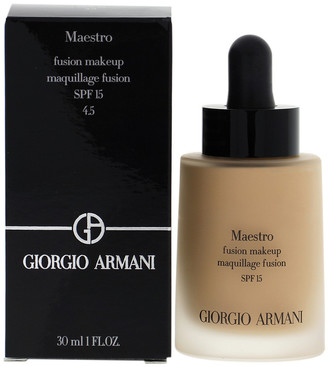 Giorgio Armani 1Oz #4.5 Light-Neutral Maestro Fusion Makeup Spf 15