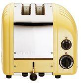 Dualit Yellow Two-Slice Toaster