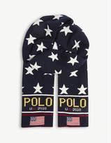 Polo Ralph Lauren Stadium wool-blend scarf