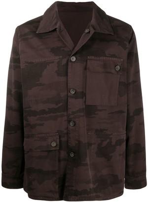Acne Studios Patch-Pocket Reversible Shirt Jacket
