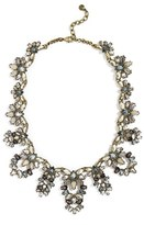 BaubleBar Women's Naira Crystal Collar Necklace