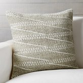 "Crate & Barrel Valen 20"" Pillow"