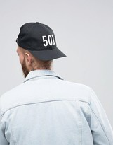 Levis Levi's 501 Baseball Cap In Black