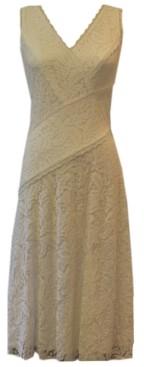 Taylor Lace A-Line Midi Dress