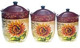 JCPenney Tuscan Sunflower 3-pc. Canister Set