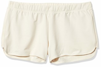 Yummie by Heather Thomson Women's Plus-Size Baby French Terry Dolphin Hem Short