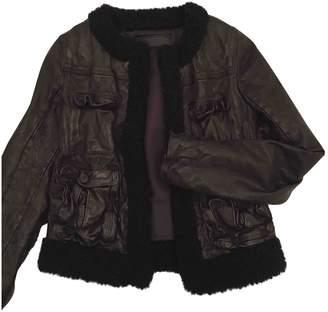 Neil Barrett Black Leather Leather jackets