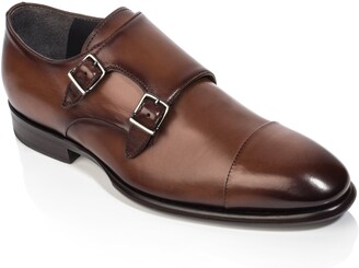 To Boot Capo Double Monk Strap Shoe
