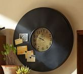 Pottery Barn Industrial Chalkboard Wall Clock