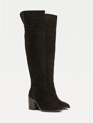 Tommy Hilfiger Suede Over-The-Knee Boot