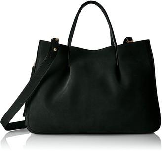 Milly Women's Astor Suede Pinched Tote Shoulder Handbag