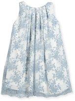 Helena Pleated Lace Float Dress, Size 7-14