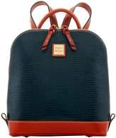 Dooney & Bourke Embossed Lizard Zip Pod Backpack
