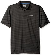 Columbia Men's Tall Plus Size Utilizer Stripe Polo Iii