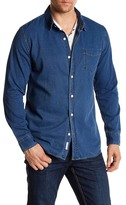 Weatherproof Indigo Dobby Texture Regular Fit Shirt