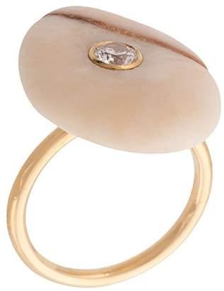 Cvc Stones Strawberry Quartz ring