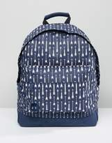 Mi-Pac Backpack With Arrow Print