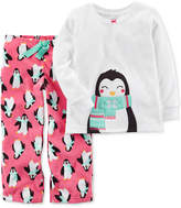 Carter's 2-Pc. Penguin Pajama Set, Little Girls (4-6X) & Big Girls (7-16)