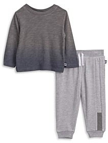 Splendid Boys' Dip Dye Tee & Jogger Pants Set - Baby