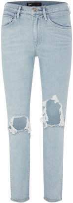 3x1 Straight Authentic Cropped Jeans - Mei