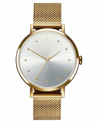 MVMT Women's Analogue Quartz Watch with Gold Tone Stainless Steel Strap 28000034-D