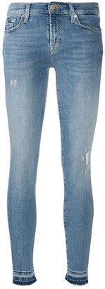 7 For All Mankind Contast-Ankle Slim Fit Jeans