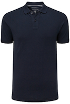 John Lewis Organic Cotton Short Sleeve Polo Shirt