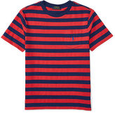 Ralph Lauren Striped Cotton Pocket Tee