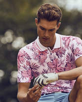 Ted Baker Floral print polo shirt