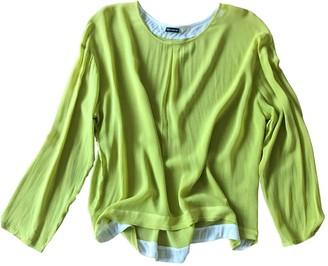 Iris von Arnim Yellow Silk Top for Women