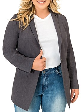 Standards & Practices Single-Button Blazer