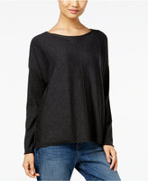 Eileen Fisher Wool Seamed Sweater