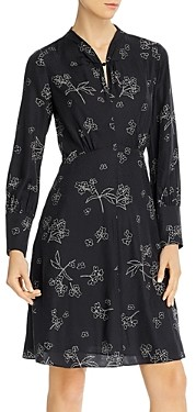 Rebecca Taylor Tailored Floral Print Dress