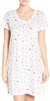 Carole Hochman Print Cotton Sleep Shirt