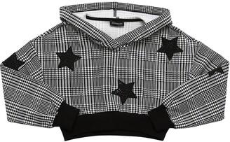 MonnaLisa Embellished Cotton Sweatshirt Hoodie