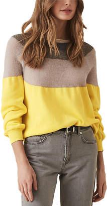 Reiss Tulum Colorblock Knit Top