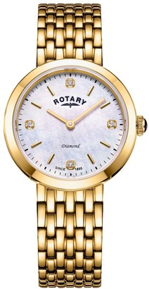 Rotary Watches Balmoral Gold Plate Bracelets Watch