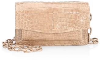Nancy Gonzalez Eden Crocodile Crossbody Bag