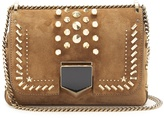 Jimmy Choo Lockett Petite suede shoulder bag
