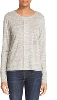 Frame Long Sleeve Linen Tee