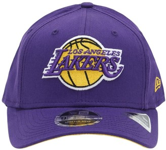 New Era Los Angeles Lakers Cotton Trucker Cap