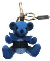 Burberry Blue Cashmere Thomas Keyring
