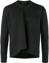 Balenciaga cropped sweatshirt