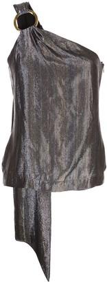 HANEY metallic vest top