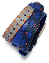 Tory Burch Triple-Wrap Leather Stitched Bracelet