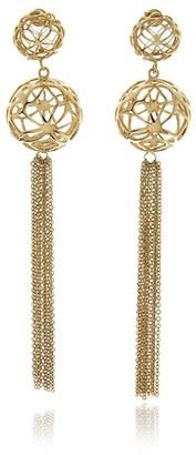 Georgina Jewelry Signature Sphere Gold Earrings