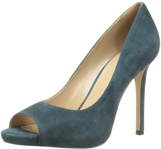 The Fix Women's Rosalee Peep Toe Platform Stiletto Dress Pump